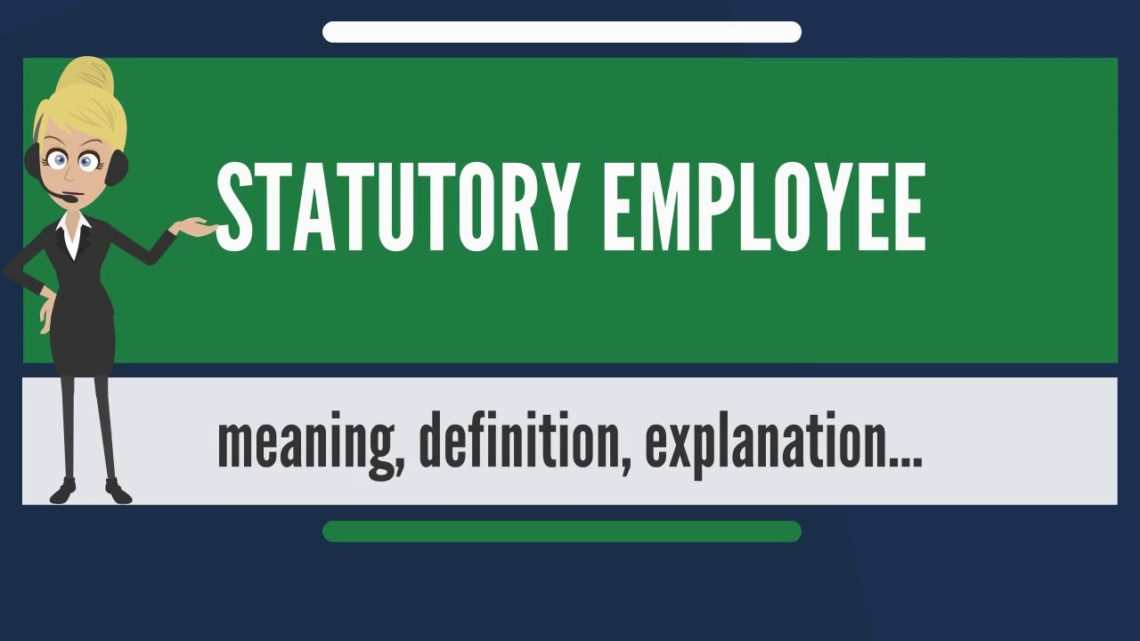 Box 13 Statutory Employee
